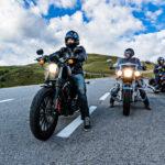 De vele onderdelen van motorfietsen